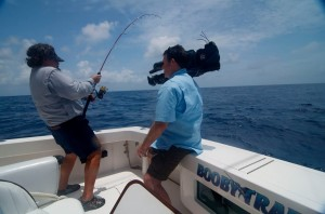 Carter Andrews guest angler on the Booby Trap Fishing Team
