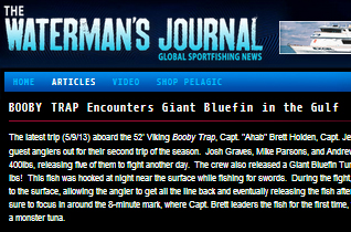 waterman's journal press release