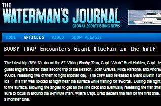 waterman's journal press release