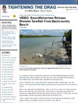 PRESSIRELEASH-SPORT-FISHING-MAGAZINE-ARTICLE-14-FOOT-SAWFISH-FLORIDA-KEYS2