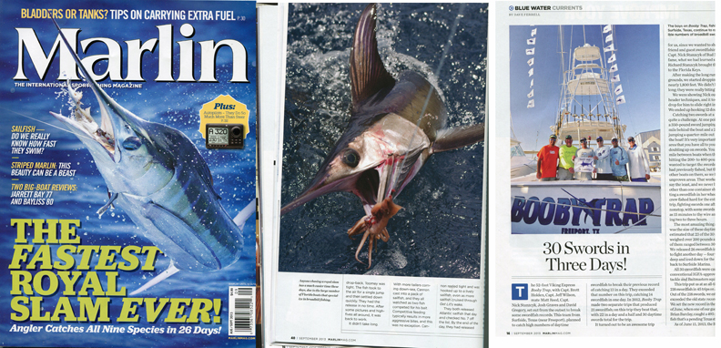 marlin-magazine-booby-trap-fishing-team-record-swordfish-swordfishing
