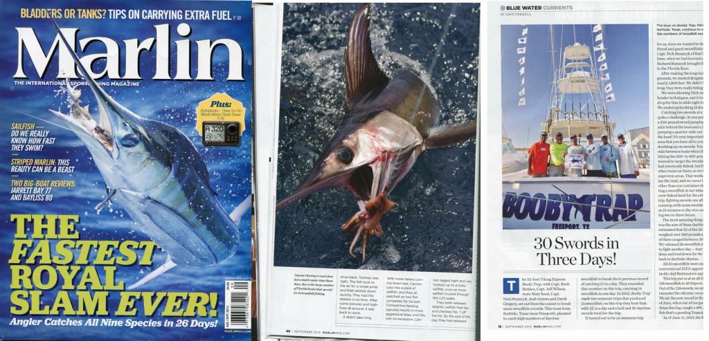 marlin-magazine-booby-trap-fishing-team-record-swordfish